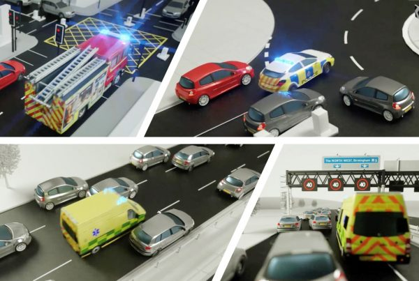 Dealing with emergency service vehicles