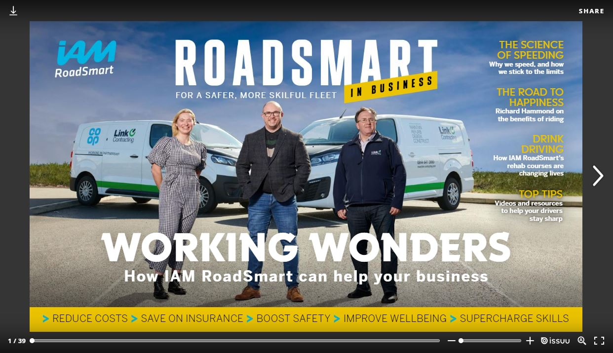 RoadSmart in Business - Spring/Summer 2021 front cover