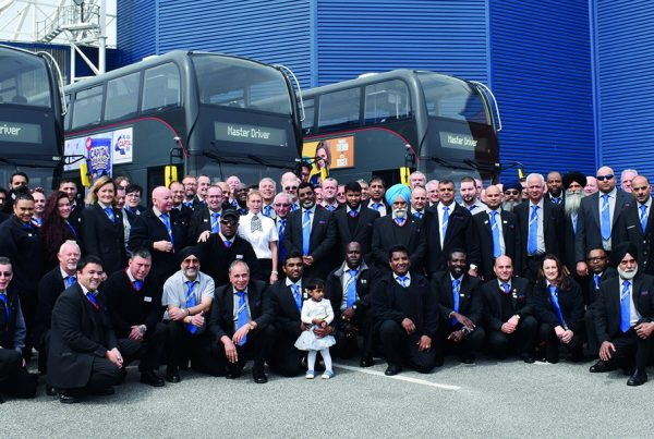National Express Masters group photo