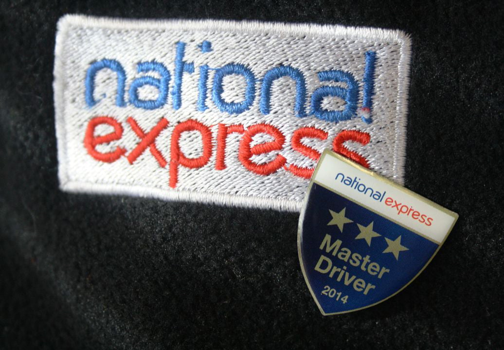 National Express Master Driver Badge