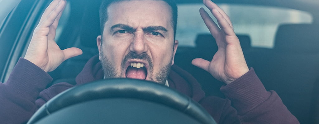 Reduce stress before driving