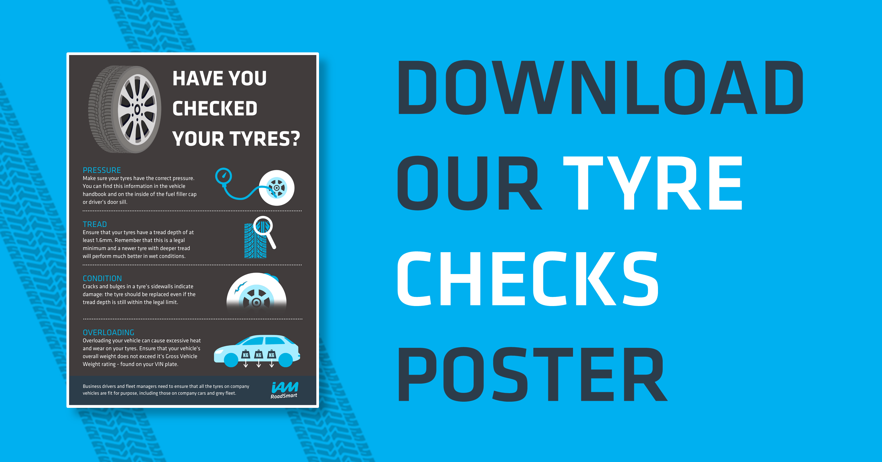 Tyre Safety – Tips and Poster