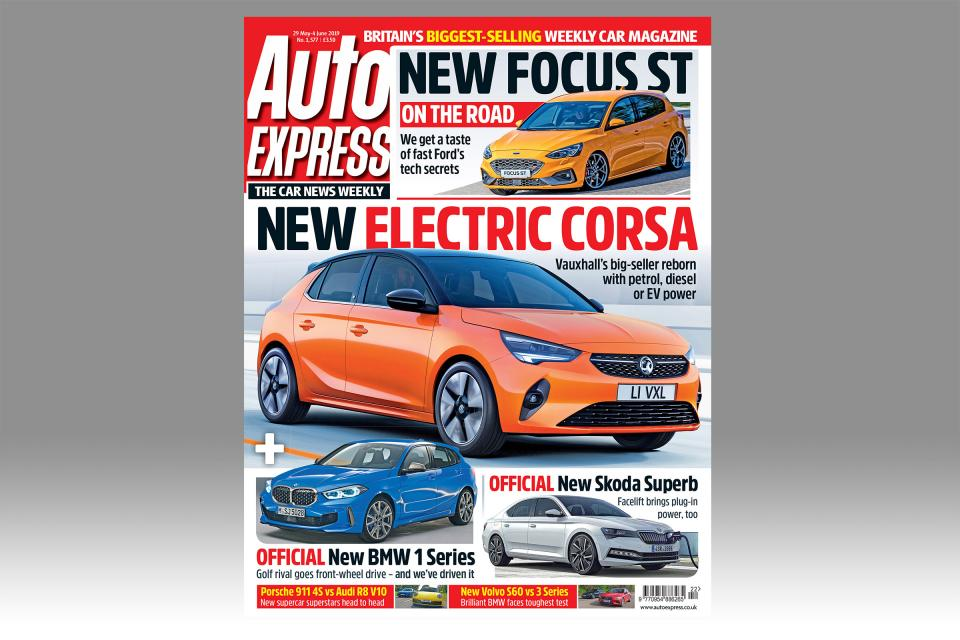 Auto Express front cover 22 May 2019