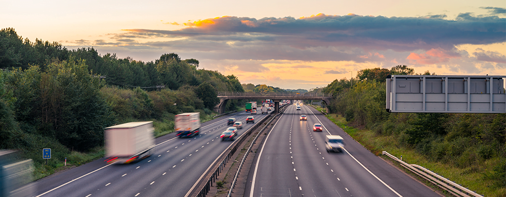 Motorway driving – A new report from Brake