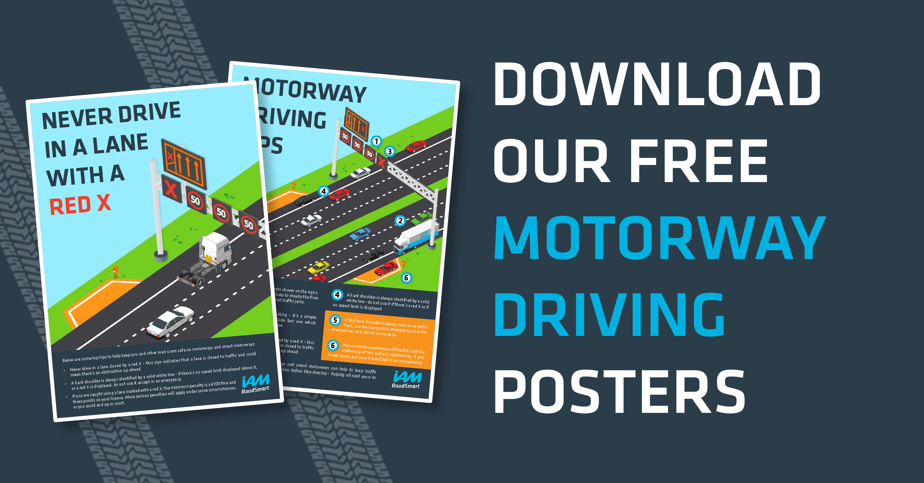 Motorway Driving – Tips and Posters