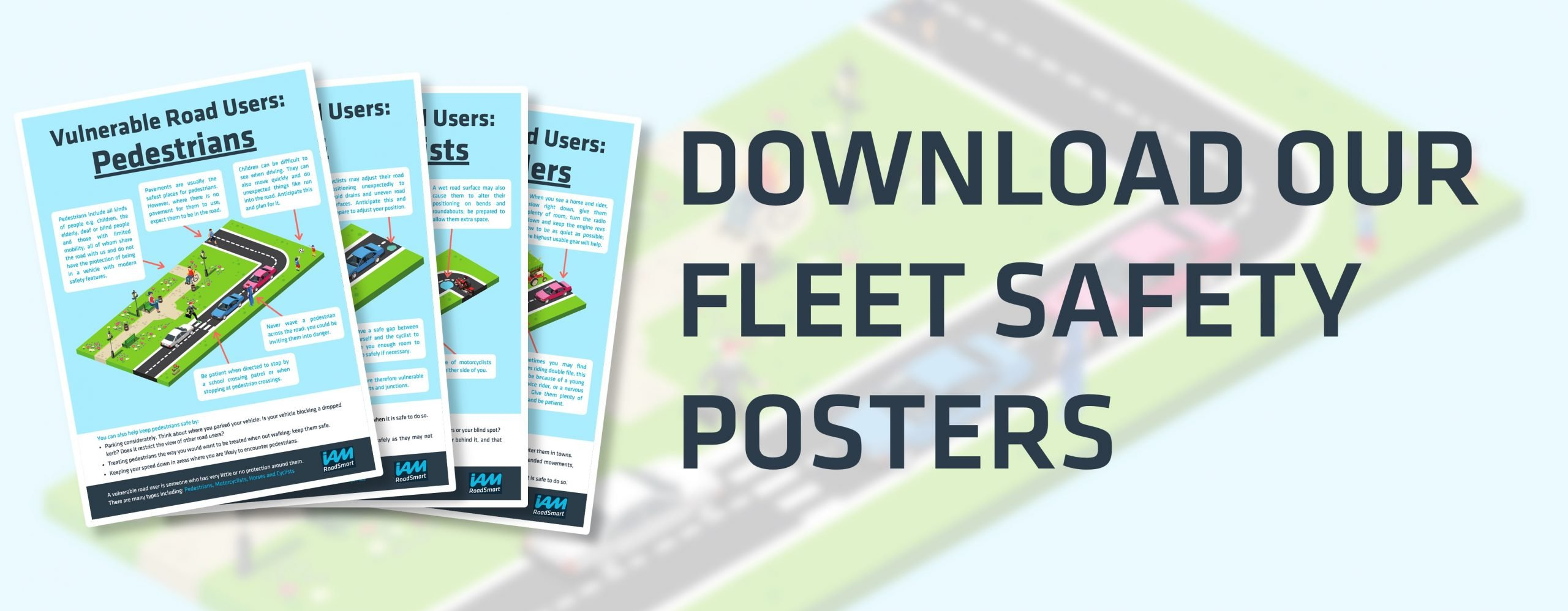 Vulnerable Road Users – Free Posters