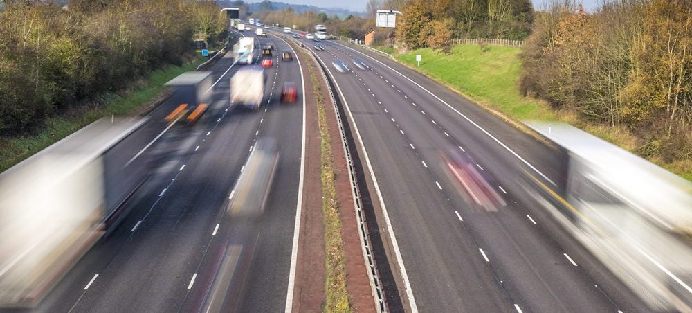 Driving for work? Stay safe around HGVs